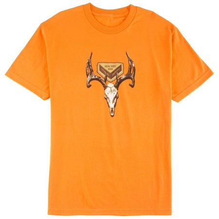 Realtree Mens Deer Skull T-Shirt