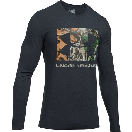 Under Armour Mens Camo Fill Knockout Dark T-Shirt