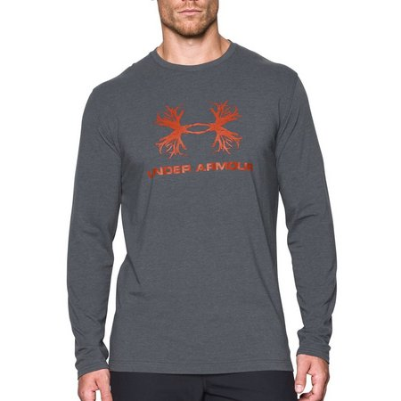 Under Armour Mens Antler Long Sleeve T-Shirt