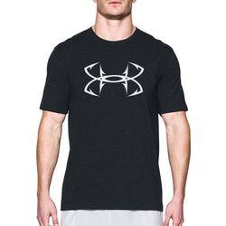 Under Armour Mens Black Fish Hook T-Shirt