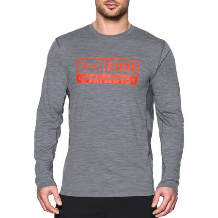 Under Armour Mens Long Sleeve Fish Hunter T-Shirt
