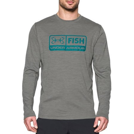 Under Armour Mens Fish Hunter Tech Pill T-Shirt
