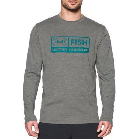 Under Armour Mens Fish Hunter Tech Pill T-Shirt