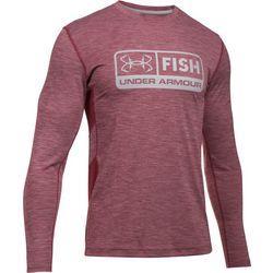 New! Under Armour Mens Fish Hunter Long Sleeve