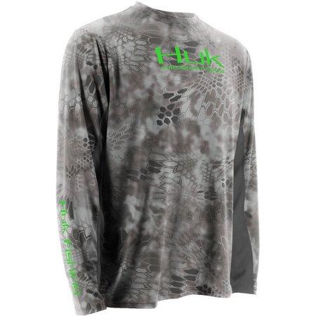 Huk Mens Kryptek Icon Raid Performance T-Shirt
