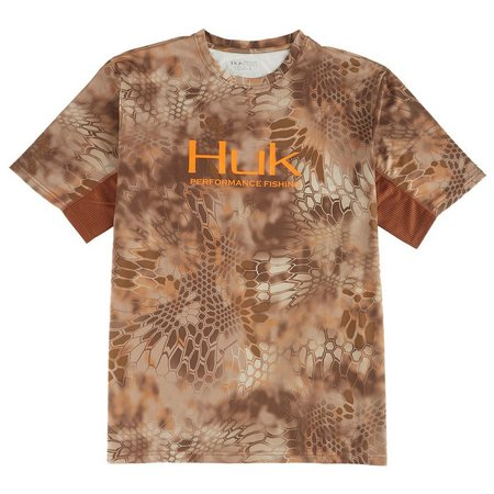 Huk Mens Kryptek Icon Short Sleeve Shirt