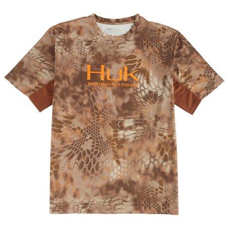 Huk Mens Kryptek Icon Short Sleeve Shirt