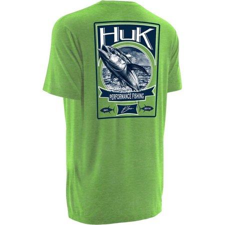 Huk Mens KScott Tuna Short Sleeve T-Shirt