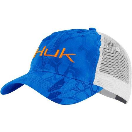 Huk Mens Kryptek Logo Trucker Hat