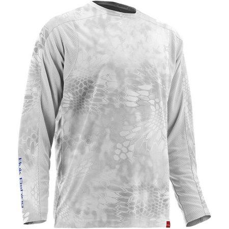 Huk Mens Trophy Kryptek Yeti Long Sleeve T-Shirt