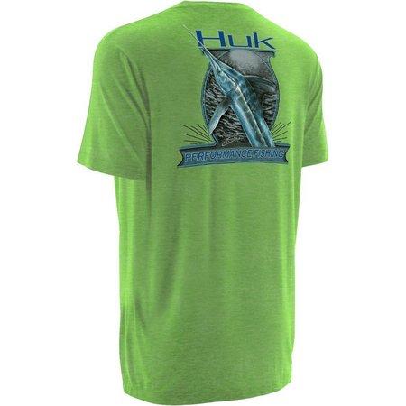 Huk Mens KC Scott Money Fish T-Shirt