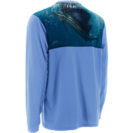 Huk Mens KC Scott Rising Sail Long Sleeve