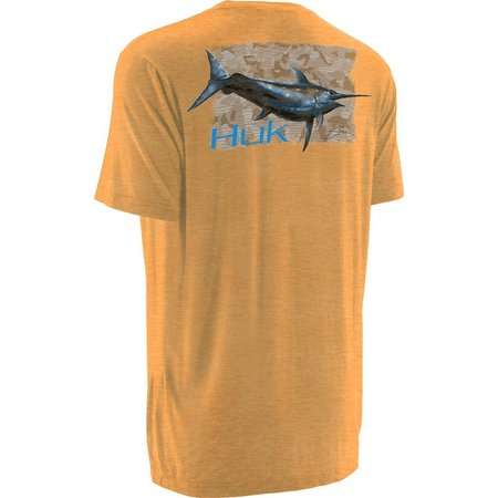 Huk Mens KC Scott Midnight Banks T-Shirt