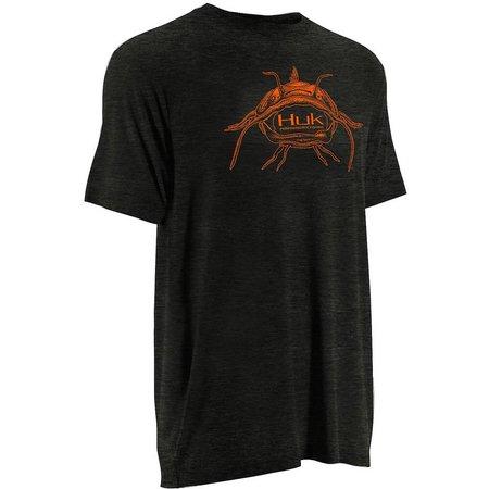 Huk Mens Inked Catfish T-Shirt