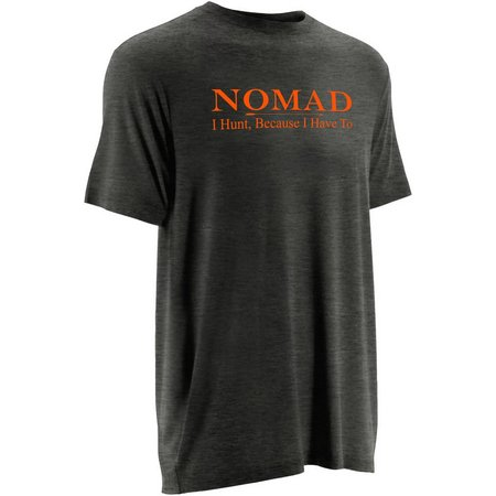 Nomad Mens Dark Heather Logo T-Shirt