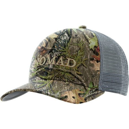 Nomad Mens Mossy Oak Obsession Trucker Hat