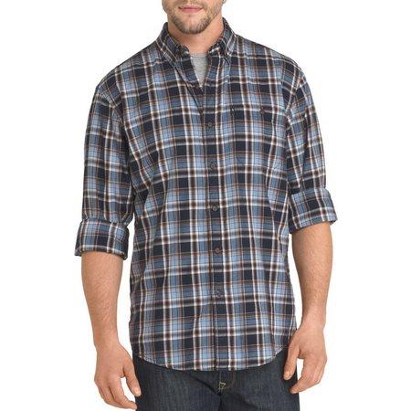 G.H. Bass Mens Madawaska Trail Plaid Shirt