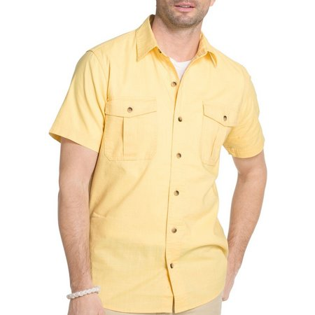 G.H. Bass Mens Salt Cove Short Sleeve Shirt