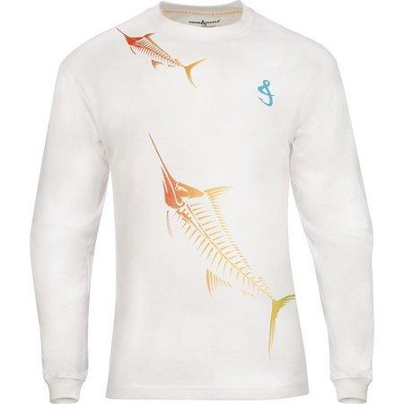 Hook and Tackle Mens Marlin Mania X-Ray T-Shirt
