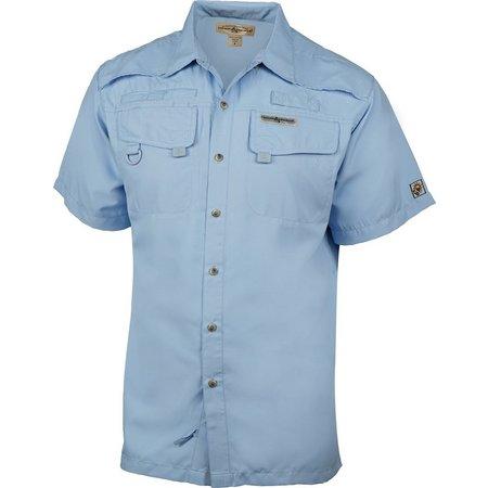 Hook and Tackle Mens Seacliff Short Sleeve Shirt