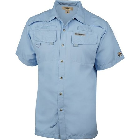 Hook and Tackle Mens Seacliff Short Sleeve Shirt