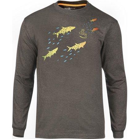 Hook and Tackle Mens Tarpon Chase Shirt