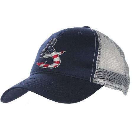 Hook and Tackle Old Glory Fishing Trucker Hat