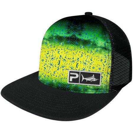 PELAGIC Mens Psycho Dorado Trucker Hat