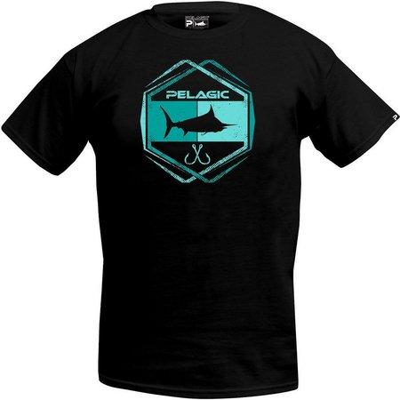 PELAGIC Mens Atomic Logo T-shirt