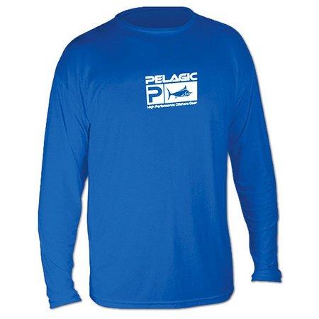 PELAGIC Mens Aquatek Long Sleeve Shirt
