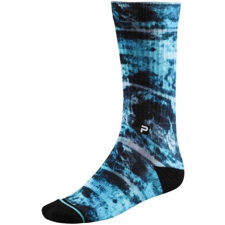 PELAGIC Mens Coral Camo Blue Proform Socks