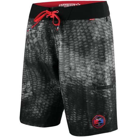 PELAGIC Mens Argonaut Black Reefer Boardshorts