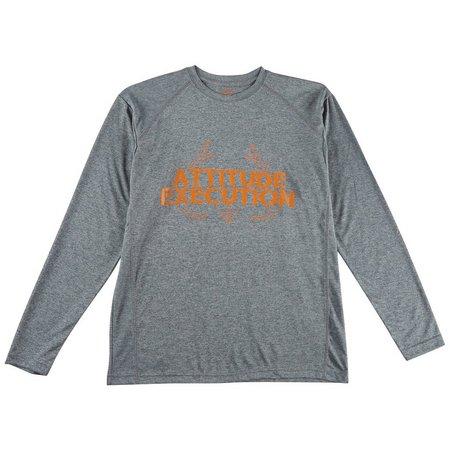 Realtree Mens Attitude Execution T-Shirt