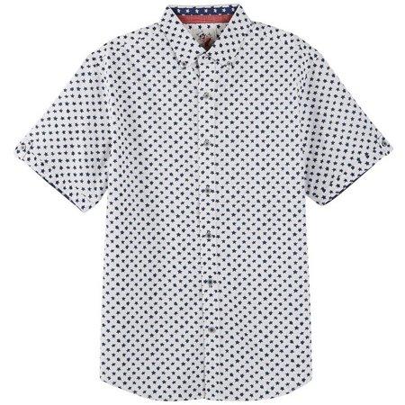 Marti Kat Mens Star Short Sleeve Shirt