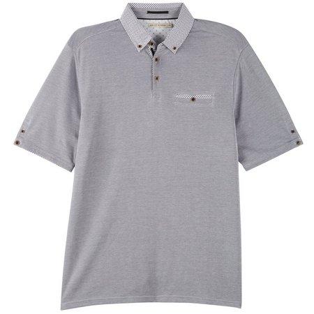 Age of Wisdom Mens Contrast Polo Shirt