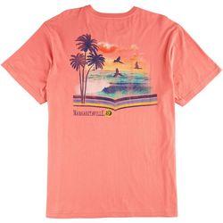 Margaritaville Mens Mile 0 T-Shirt