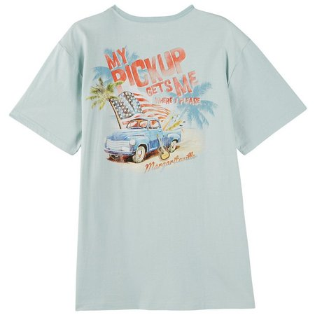 Margaritaville Mens Sun & Surf T-Shirt