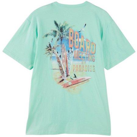 Margaritaville Mens Board Meeting Pocket T-Shirt