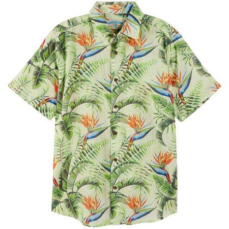 Margaritaville Mens Green Paradise Shirt