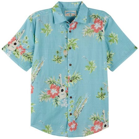 Margaritaville Mens Island Strum Shirt