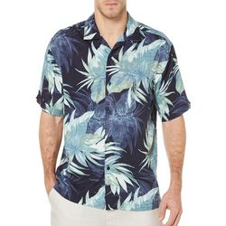 Cubavera Mens Big & Tall Tropical Print Shirt