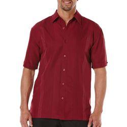Cubavera Mens Ombre Stitch Embroidered Shirt