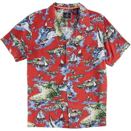Caribbean Joe Mens Nantucket Shirt