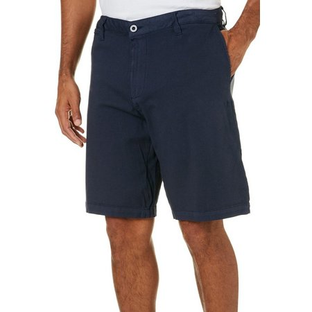 Caribbean Joe Mens Club Dye Twill Shorts