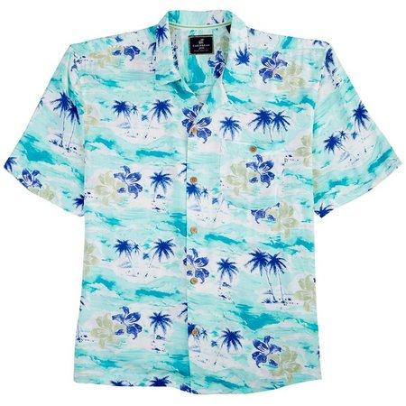 Caribbean Joe Mens Hawaiian Holiday Shirt