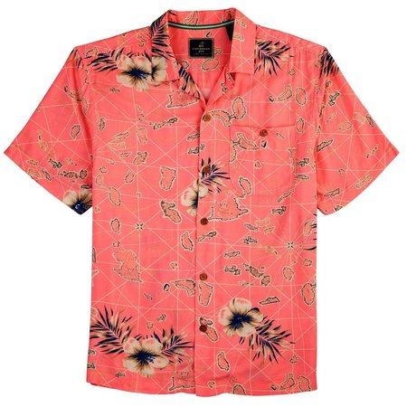 Caribbean Joe Mens Chart Toppper Shirt