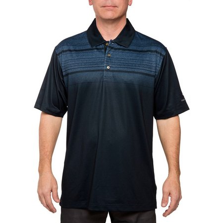 Pebble Beach Mens Roller Print Polo Shirt