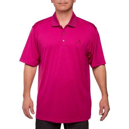 Pebble Beach Mens Classic Performance Polo Shirt