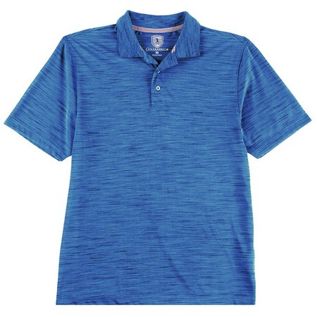 Golf America Mens Space Dyed Polo Shirt