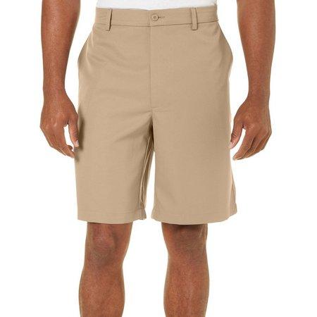 Golf American Mens Solid Golf Shorts